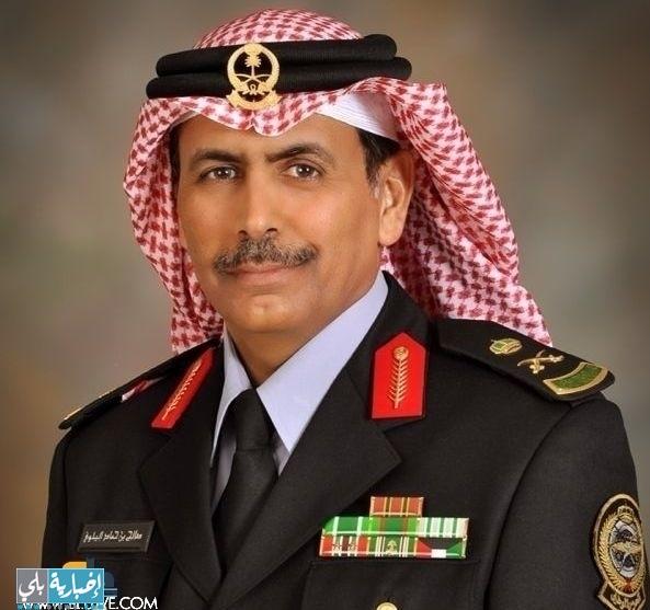 صاحب السمو الملكي وزير الحرس الوطني يمنح اللواء مهندس صالح حماد البلوي نوط القيادة