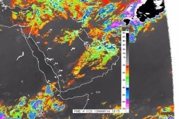 بمشيئة الله تعالى حالة الطقس المتوقعة ليوم  غدٍ الجمعة