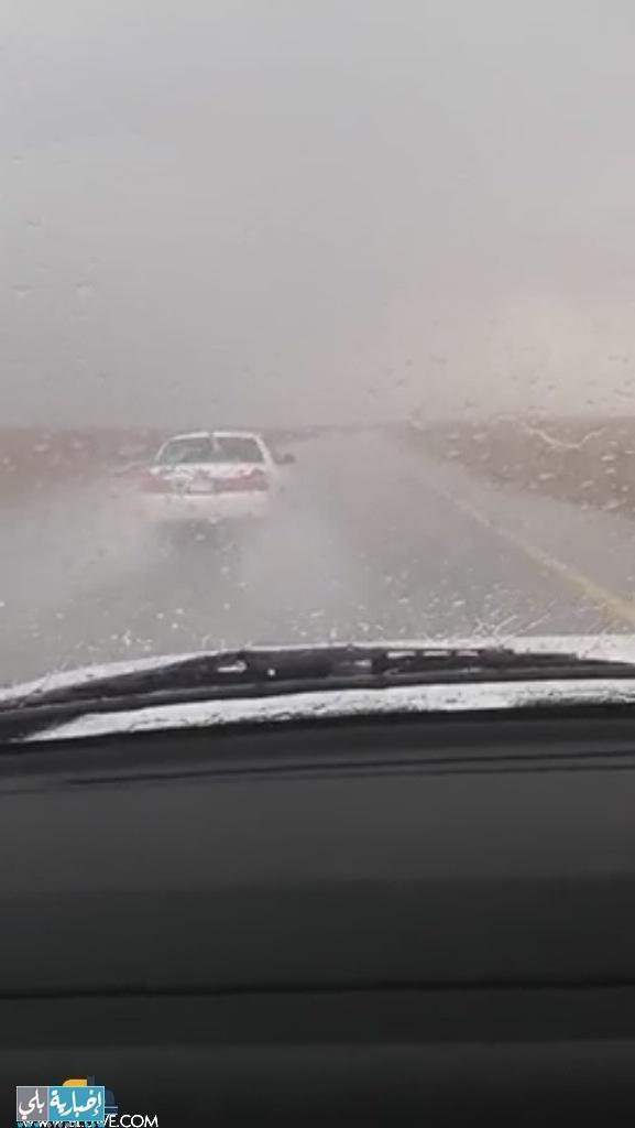 أمطار على منطقة المعظم اليوم الخميس ١٩-٥-١٤٣٥هـ