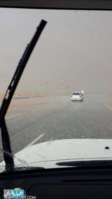 أمطار محافظة العلا ١٢-٦-١٤٣٥هـ
