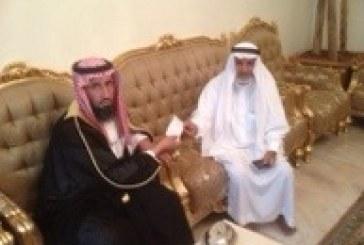 الاستاذ حمود زيد السرحاني يشكر الشيخ علي الحمودي