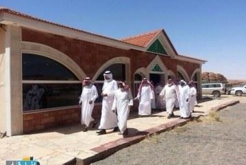 زيارة رئيس بلدية محافطة العلا لقبيلة المناصير من بلي