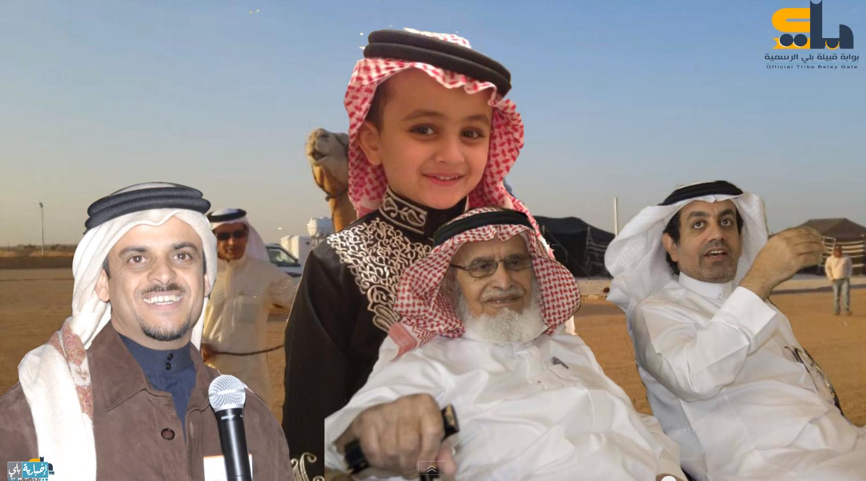 (فيديو) الشاعر حمد السعيد يهدي قصيدة (سطام) لمحمد حماد البلوي بمناسة المولود الجديد
