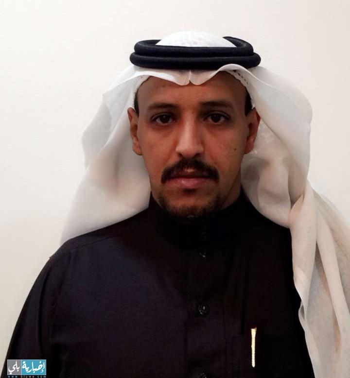 الأستاذ خالد البلوي يحصل على الماجستير