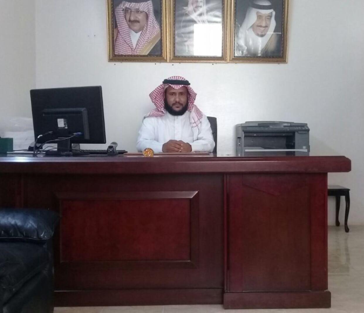 ناصر الرموثي رئيسا لمركز النشيفة