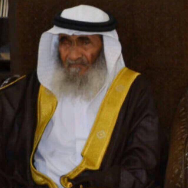 تعزيه بوفاة / محمد مرزوق الحمراني البلوي