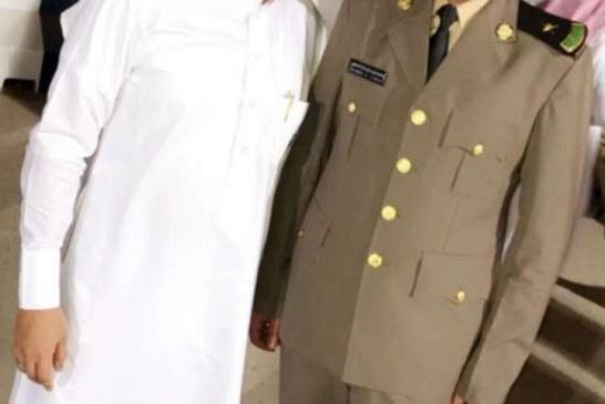 """تخرج """"العرادي """" برتبة ملازم من كلية الملك فهد الامنية"""