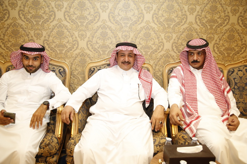 زفاف الشاب فهد بن عبدالكريم بن عواد العرادى البلوى LMS9171